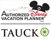 Authorized Disney Vacation Planner and Tauck Planner