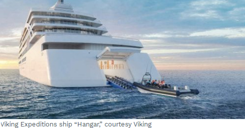 Viking Expiditions Ship hangar